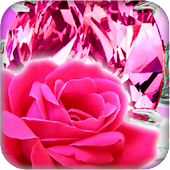 Rosa Papel de Parede Vivo
