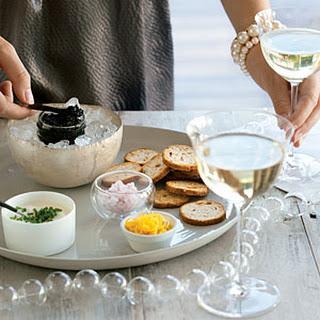 California Caviar Tasting.