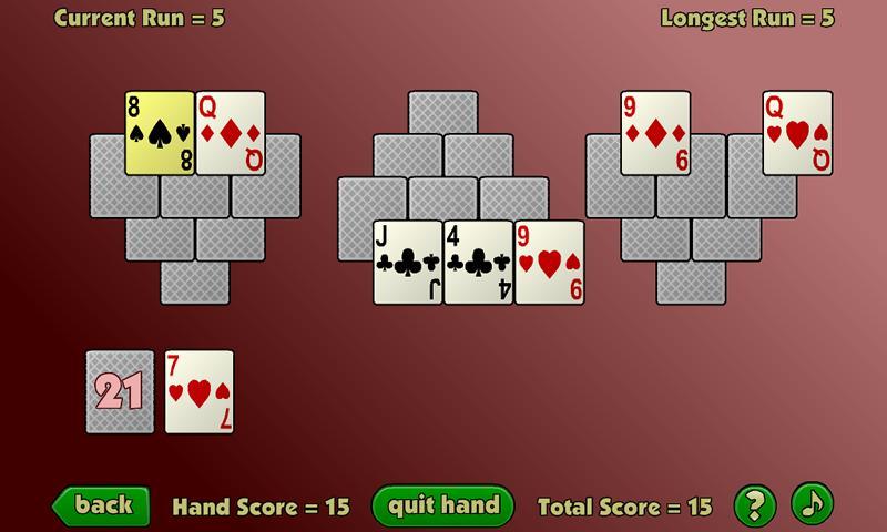 TriPeaks Twelve- screenshot