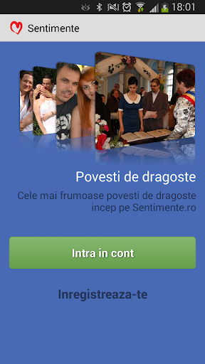 Sentimente.ro - 1 dating app