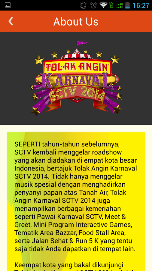 Karnaval SCTV 2014- screenshot
