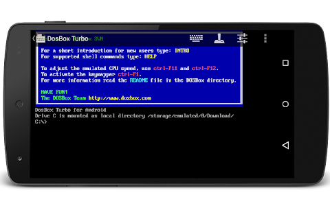 DosBox Turbo v2.1.17a