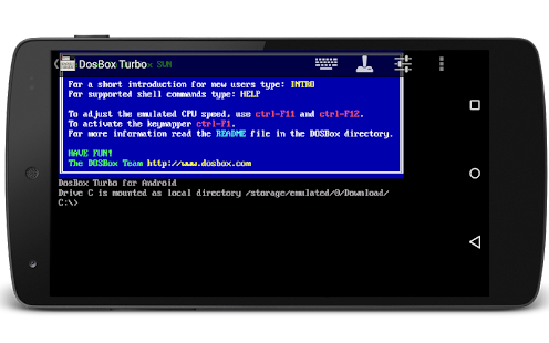 DosBox Turbo - screenshot thumbnail