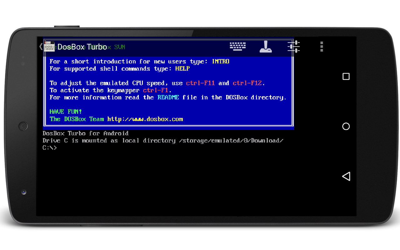 DosBox Turbo - screenshot