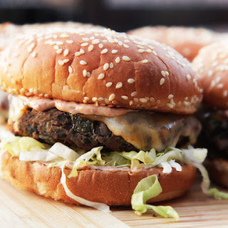 Really Awesome Black Bean Burgers.