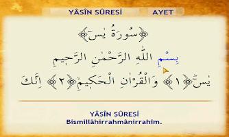 Screenshot of Yasin-i Şerif