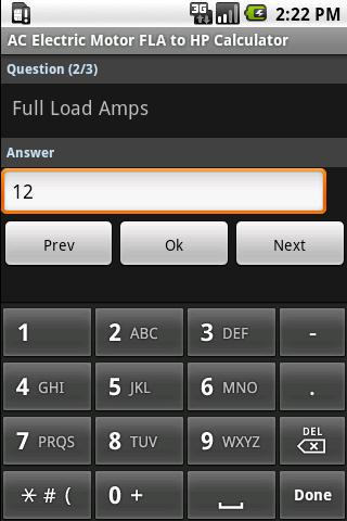 Electric motor calculators android apps on google play electric motor calculators screenshot greentooth Image collections