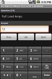 Electric Motor Calculators