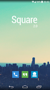 Square Icon Pack - screenshot thumbnail