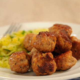 Jessica Alba's Turkey Meatballs.