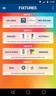 ICC World Cup 2015 Live by CIT - screenshot