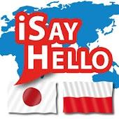 iSayHello Japanese - Polish