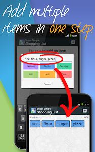 Super Simple Shopping List v1.5.3 (Full)