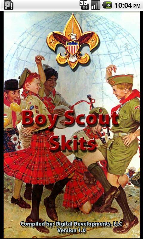 Boy Scout Skits- screenshot
