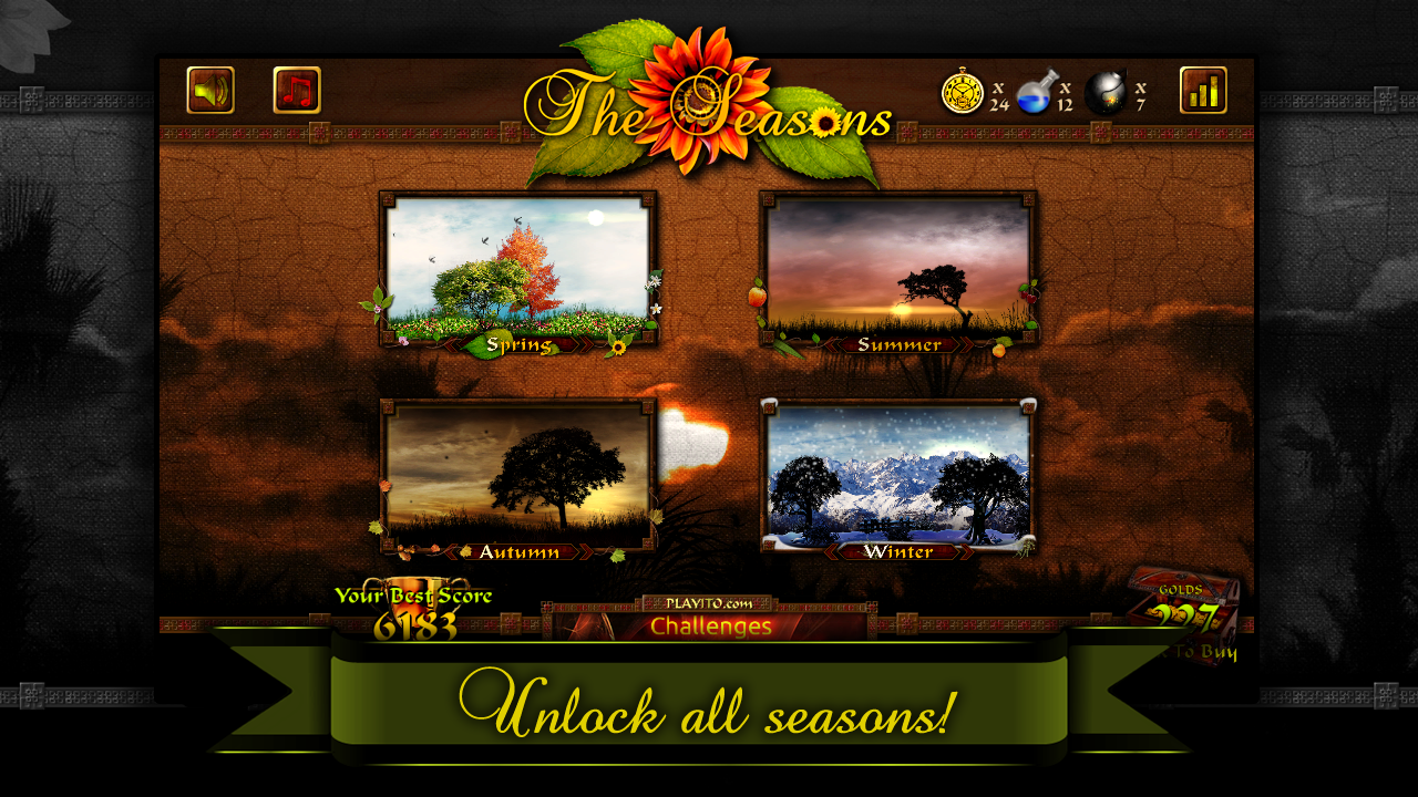 The Seasons FREE- screenshot