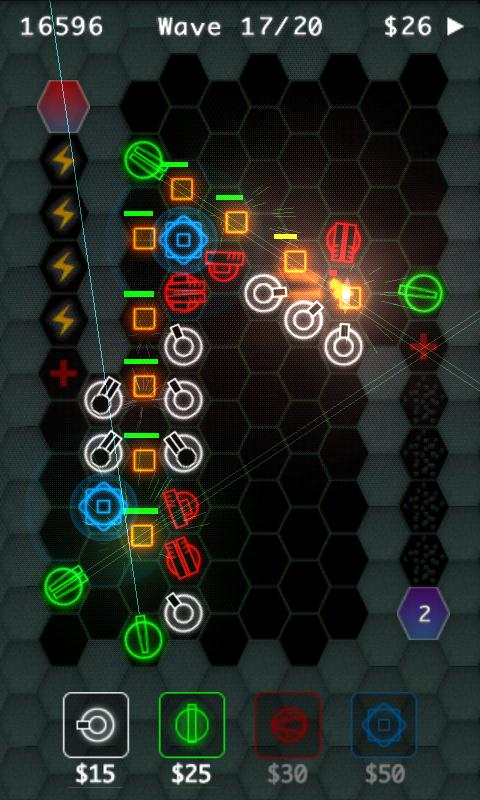 HexDefense - screenshot