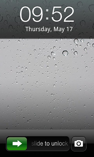 تعريب ثيم قفل الايفون GO Locker Iphone Animated Them  لجوالات الاندرويد