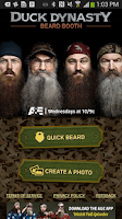 Screenshot of Duck Dynasty Beard Booth