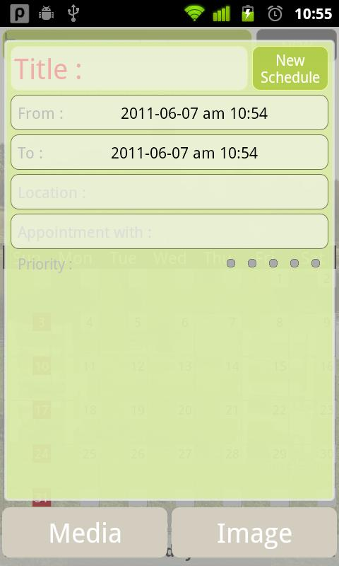 Simple Calendar - screenshot
