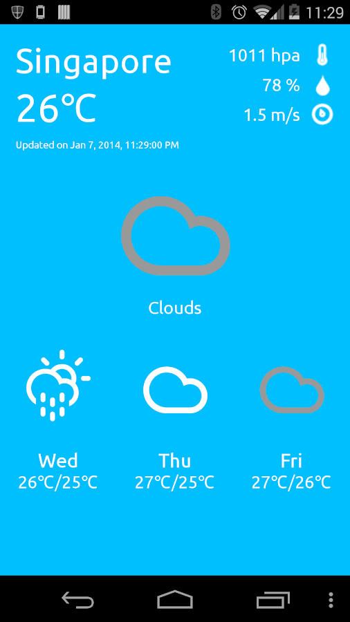 Weather Now - Fast & Accurate - screenshot
