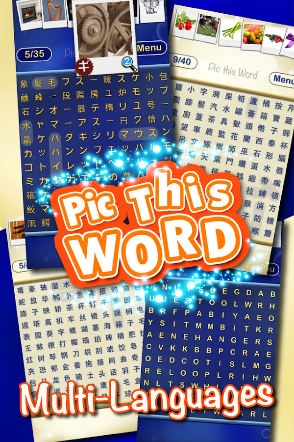 Pic this Word - picture search- screenshot