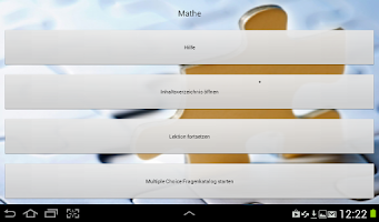 Screenshot of Pilotentest MCT Mathe