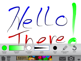 Screenshot of Classroom Tools- My Whiteboard