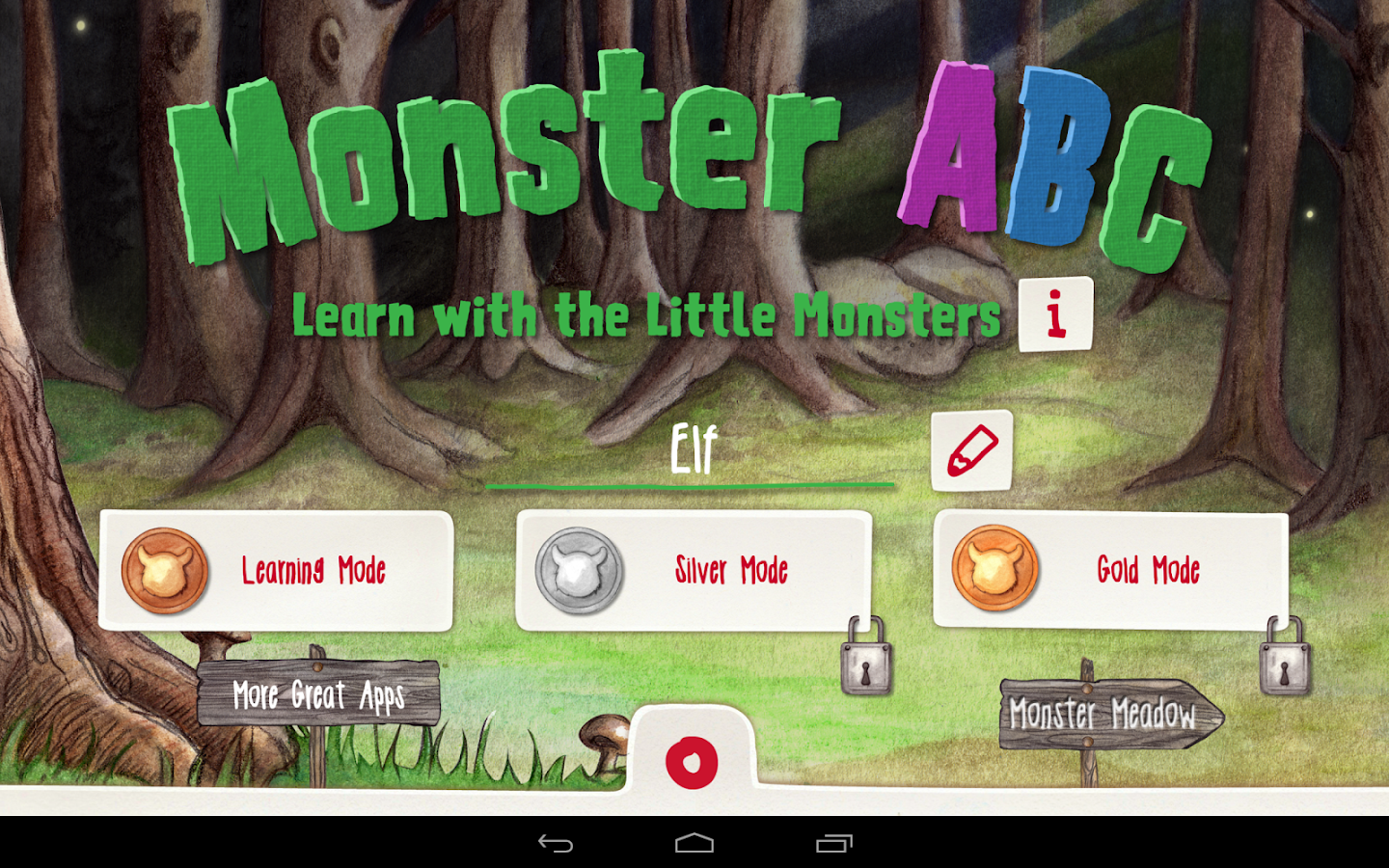Monster ABC - Learning with the little Monsters- screenshot