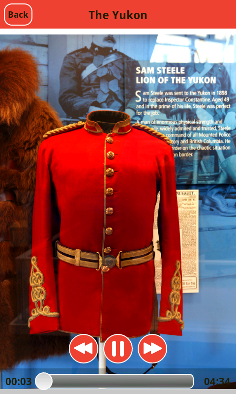 RCMP Heritage Center- screenshot