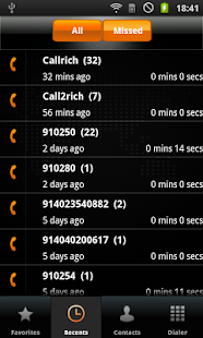 C2R Softphone - screenshot thumbnail