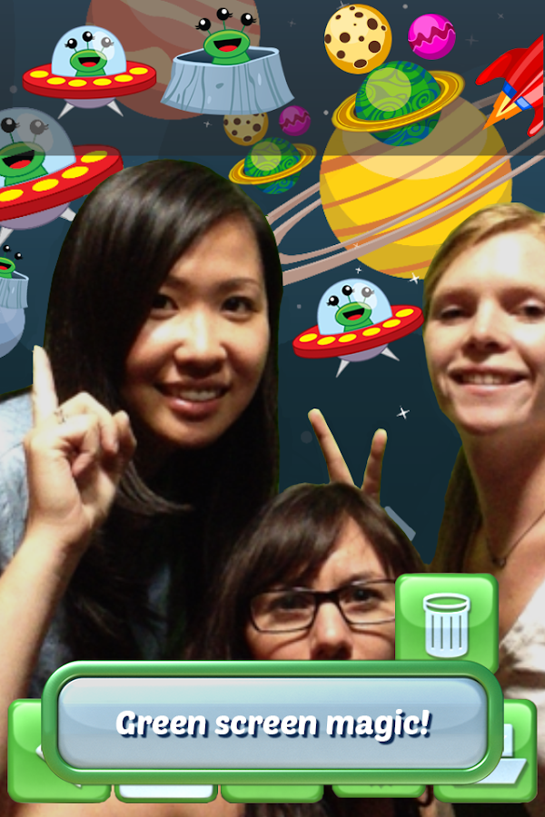 Selfie Booth-Green Screen Fun!- screenshot