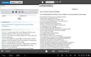 Screenshot of On-the-Go Bible Study Free