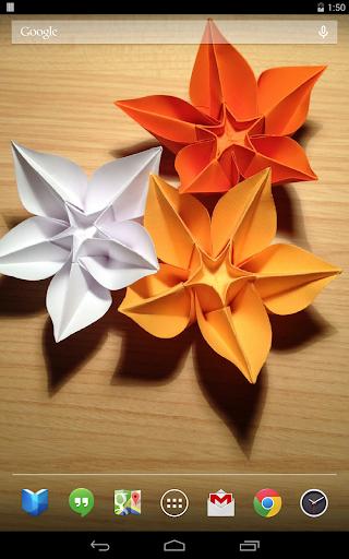 華麗的摺紙動態壁紙|玩娛樂App免費|玩APPs