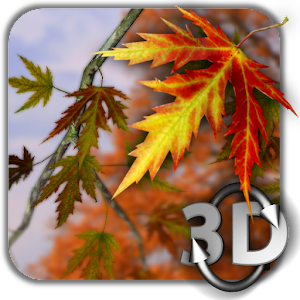 Autumn Leaves in HD Gyro 3D Parallax Wallpaper - Android ...