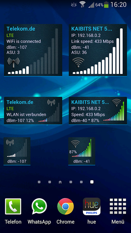 Network Signal Info Pro - screenshot