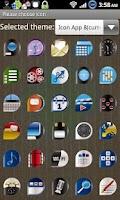 Screenshot of Icon App 8 Go Launcher EX