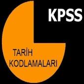 KPSS Tarih Kodlamaları
