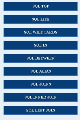 Advanced SQL - screenshot
