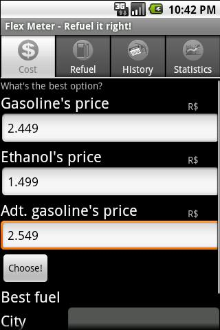 Flex Meter - Refuel it right! - screenshot