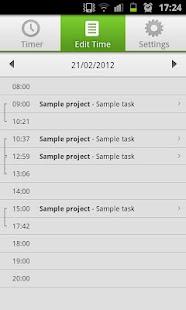 Paymo Time Tracker - screenshot thumbnail
