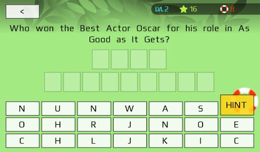 Oscars Trivia Unofficial