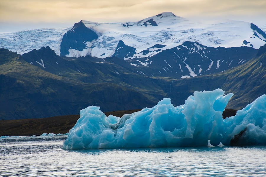 Ice Floe by Bradford Fenton - Landscapes Travel ( glacier,  )