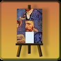 Van Gogh slidepuzzle logo
