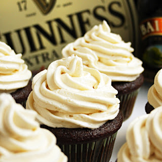"Irish ""Car Bomb"" Cupcakes"