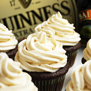 "Irish ""Car Bomb"" Cupcakes."