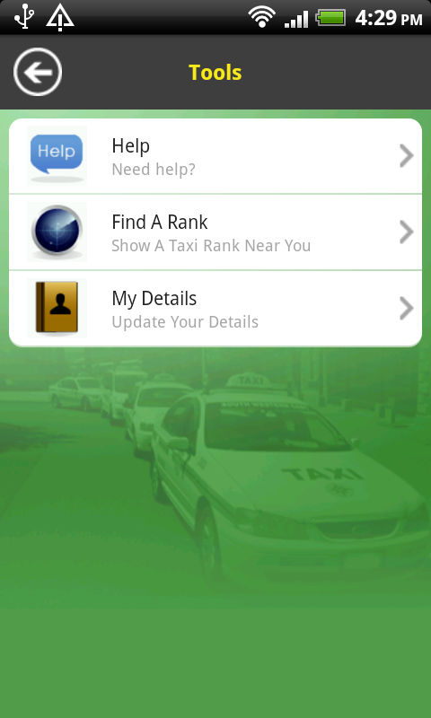 South Western Cabs- screenshot