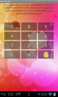 Mr PADLOCK App Locker Shield
