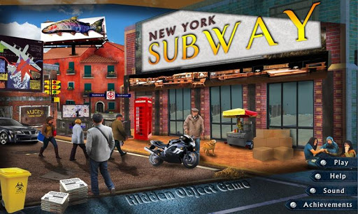 New York Subway Hidden Object