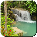 Tropical waterfall Video LWP icon