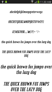 Fonts for FlipFont 50 #3 - screenshot thumbnail